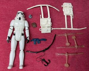 Vintage Star Wars Survival Gear Kit Belt Mask + Stormtrooper Blaster Lot Kenner