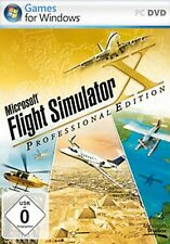 PC Spiel Flight Simulator X FS Microsoft Flug 10 * DeLuxe Edition Professional