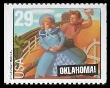 US 2769 Broadway Musicals Oklahoma 29c single (1 stamp) MNH 1993
