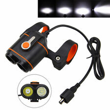 10000LM 2x XM-L2 LED Front Cycling High-Low Beam Bicycle light Bike Lamp Warning