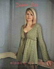 Alpaca Silk Two Debbie Bliss Knitting Patterns Book 12 Designs Women
