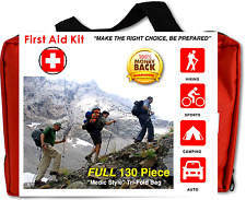 Emergency kit first aid survival auto car home preparedness adhesive bandages
