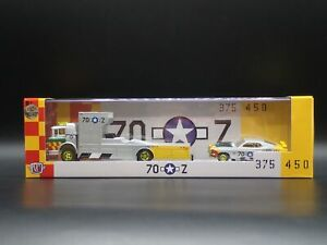 2021 M2 AUTO HAULER 1970 FORD C950 RAMP 70 MUSTANG BOSS 429 GOLD CHASE 1/750 R48