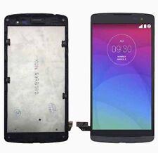 Digitalizador LCD Pantalla Táctil Pantalla & Marco Negro LG LEON H320 H340 H340F LTE 4G