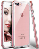 Apple iPhone 7 Plus Clear Case For Girls Hybrid Ultra Slim Soft TPU Phone Cover