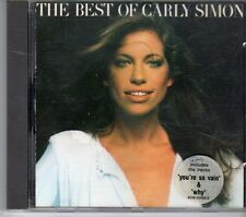 (FD779) The Best of Carly Simon - 1991 CD