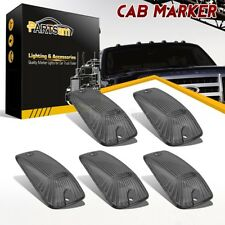 5x Roof Running Light Cab Marker Smoke Cover for Chevrolet K2500 K1500 C3500