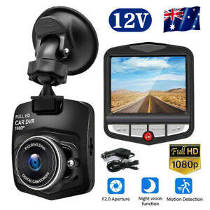 HD 1080P Car Dash Camera Recorder LCD Dual Lens DVR Front And Rear Reverse Cam