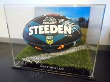 ✺Signed✺ MATT MOYLAN Panthers Football PROOF COA Penrith 2018 Jersey