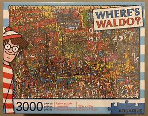 Where's Waldo 3000 Piece Jigsaw Puzzle by Aquarius