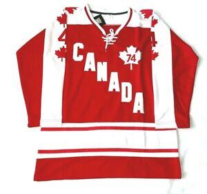 Team Canada Summit Series 1974 Jersey Large
