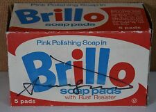 BRILLO box original HAND SIGNED by ANDY WARHOL circa 1964 in hard case POP ART