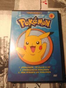 Pokemon DVD 1ª Temporada (1, 2, 3, 4 y 5) - SALVAT (20€ todos)