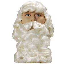 Superior High Quality Father Christmas Santa Wig Christmas Grotto Professional