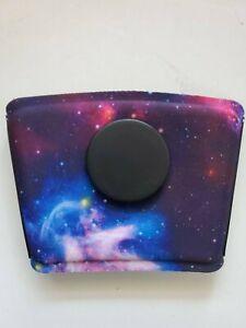PopSockets PopThirst Beverage Cup Sleeve Grip Blue Nebula / Galaxy Black Stars