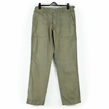 Boden Mens Cargo Combat Style Trousers Washed Khaki Sz Waist 36 Inch Leg 32 Inch