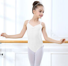 Girls Gymnastics Ballet Dance Dress Toddler Kids Leotard Tutu Dancewear  5-12