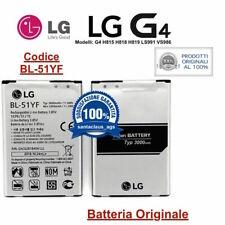 Batteria ORIGINALE per LG G4 H815 H818 H819 LS991 VS986 da 3000 mAh BL-51YF