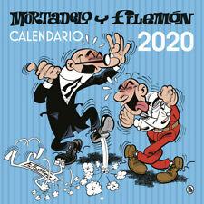 CALENDARIO DE PARED MORTADELO Y FILEMÓN 2020. ENVÍO URGENTE (ESPAÑA)