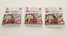 3 x Lego Minifigures Series 6 Blind Bags - Brand New & Sealed/Unopened