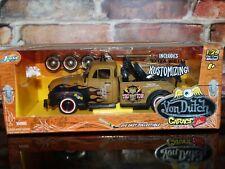 Jada 1953 Chevy Tow Truck Von Dutch Garage Wrecker Custom 1:24 Scale Diecast '53