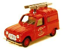 Renault 4 fourgonnette F4 1965 Pompiers NOREV