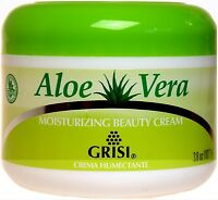 Grisi Savila Aloe Vera Moisturizing Beauty Cream | Crema Humectante | 3.8 Ounce