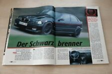 AMS 16709) BMW AC Schnitzer S3 compact E36 mit 260PS im TEST a