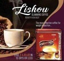 2X Can Lishuslimming COFFEE FOR WEIGHT LOSS ADVANCED STRONG ORIGINAL