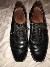 Allen Edmonds Black Leather Tie Up Men's Shoes Size 11C