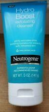 LOT OF THREE-Neutrogena Hydro Boost exfoliating cleanser 5 oz w/Hyaluronic Acid