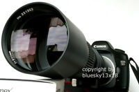 Super Tele 500 1000mm für Sony E-Mount Alpha 3000 5000 5100 6000 6300 6500 7 NEU