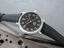 Orient Monarch Handaufzug Werk Edelstahl Herrenuhr Hand Winding Watch FDD03002B0