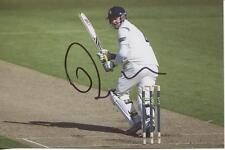 3) A 6 x 4 inch photo personally signed by Kent Cricketer Robert Key.