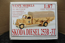 WESPE HO 1:87 RESIN KIT SKODA DIESEL 253B-3T TRUCK  BOXED