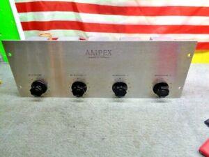 ESTATE* RARE VINTAGE AMPEX 3761 R1 TUBE PREAMP MIXER ORIGINAL & BEAUTIFUL!
