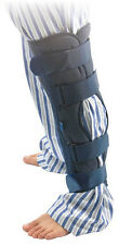 """Benovate Tri-panel Universal Knee Immobilizer Brace Support 18"""" with Metal Bar"""
