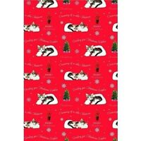 Tabby Kitten  Christmas Gift Wrap Wrapping Paper 6 Sheets & Tags Cat Lovers