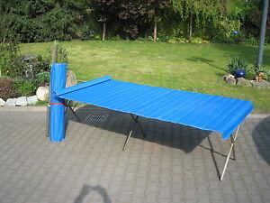 Klapptisch Markttisch Stahltisch 3x1m Flohmarkttisch inkl. Rollblatt
