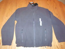 Nwt Mens Free Country Microtech Fleece Jacket Coat Zip Up Charcoal Gray Large L