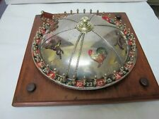 FRENCH CHOCOLATE WHEEL, TABLE TOP. WITH ANIMALS C1900