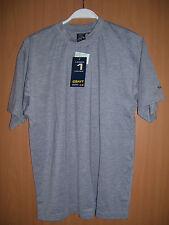 CRAFT Lager 1 Layer Active Tee Shirt Laufshirt Kurzarm Klimaeffekt S grau neu