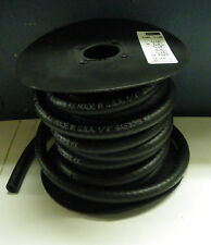 "1/4"" X 25 FOOT BLACK RUBBER FUEL LINE HOSE **NEW** USA"