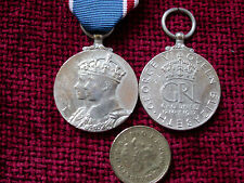 Replica Copy Full Size GVI  1937 Coronation Medal