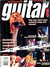 NIRVANA KURT COBAIN Guitar One Magazine Number 1 April 1995 Led Zeppelin Metalli