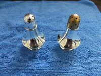 Towle Sterling Silver Quality Salt & Pepper Set #406