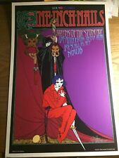Nine Inch Nails Queens of the Stone Age original Show Poster