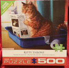 Kitty Throne by Lucia Heffernan 500Piece Puzzle