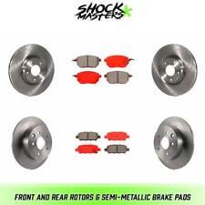 Front Brake Pad Set Semi-Metallic MD815 for Infiniti G35 Nissan Maxima Sentra