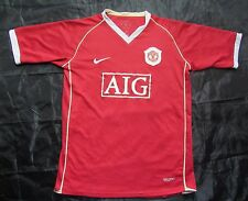 MANCHESTER UNITED home jersey shirt by NIKE 2006-2007 SIZE XL.Boys (XS adults)